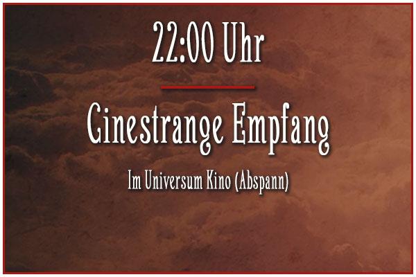 Cinestrange Empfang