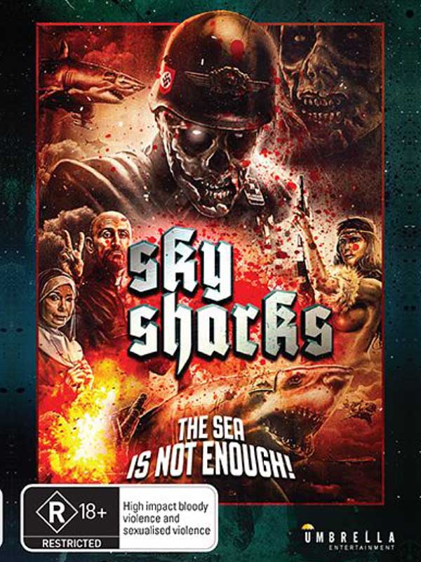 Australisches SKY Sharks Artwork