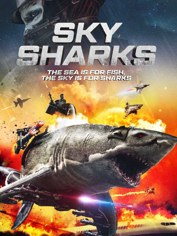 Amerikanisches SKY Sharks Artwork